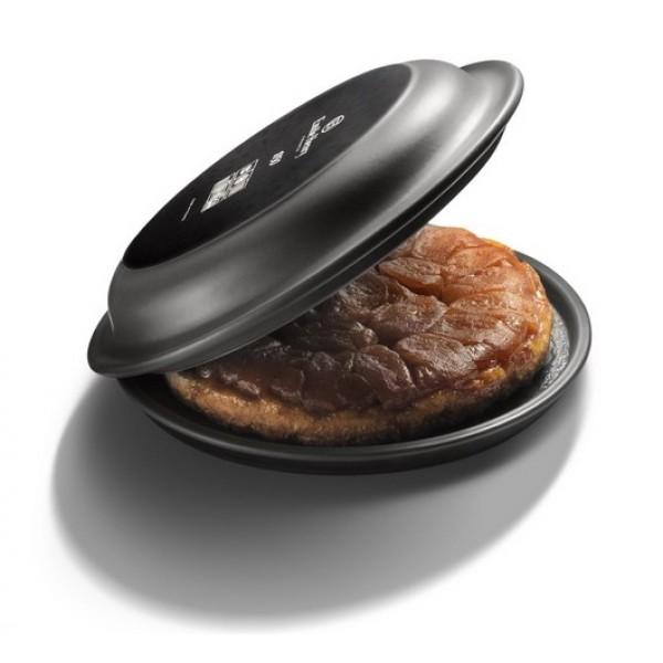 Emile Henry keramična posoda za peko pogač in sladic - Tarte Tatin premera 30 cm Temno siva, tudi INDUKCIJA