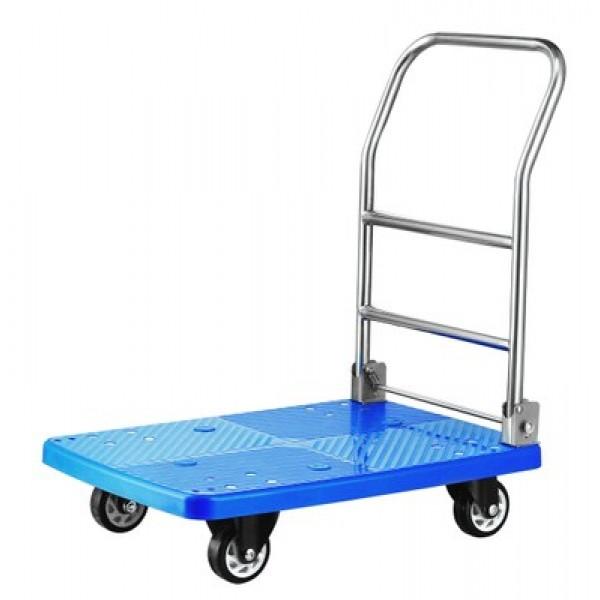 Transportni zložljiv vozižek za prevažanje tovora do 150 kg