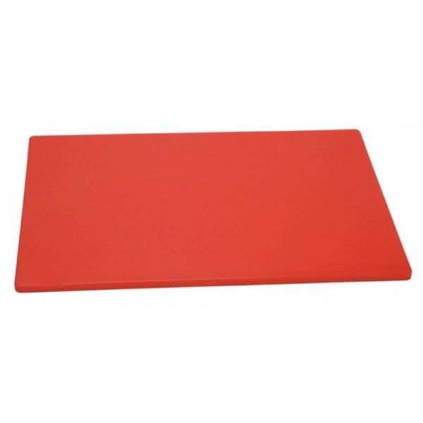 Gastronomska deska za rezanje530x325x(V)15 - Rdeča
