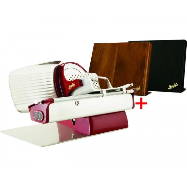 Berkel električni rezalnik Home line 200 rdeči + Magnetni nosilec za nože