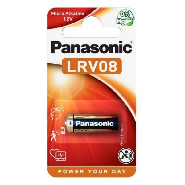 Panasonic Alkalna baterija 12V A23, MN-21; 1 Pak