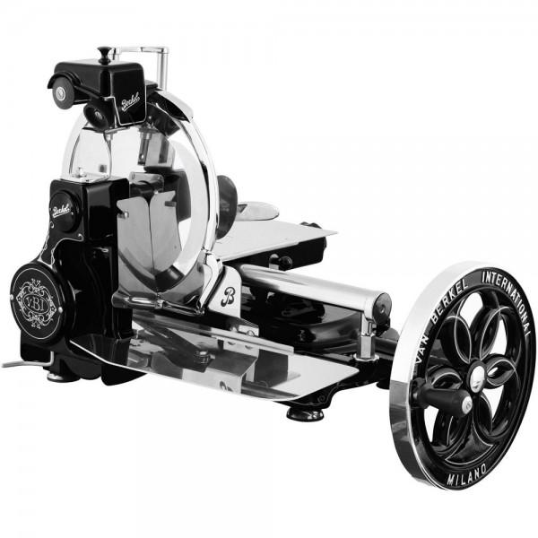 Berkel profesinalni ročni rezalnik Flywheel B114 Črni + STOJALO BREZPLAČNO