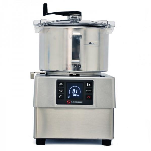 Sammic rezalnik/mešalnik/emulzator za obdelavo hrane, posoda 5,5l,  KE-5V