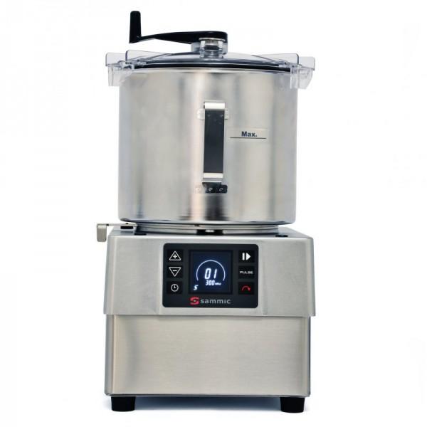 Sammic rezalnik/mešalnik/emulzator za obdelavo hrane, posoda 8l,  KE-8V
