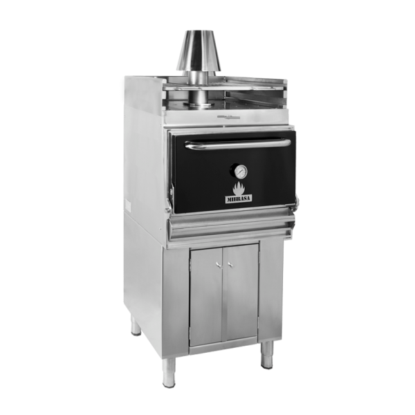 Mibrasa® Pečica na oglje z spodnjo omaro in grelno rešetko HMB AB SB 110