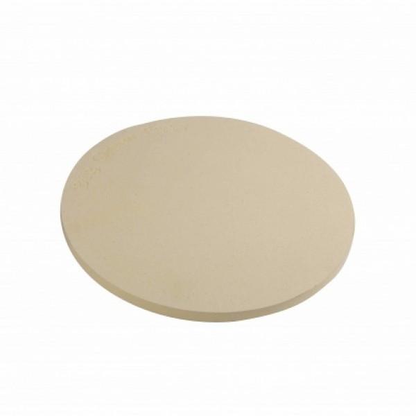 Ploska keramična plošča za peko Pizz in kruha - premer 30 cm