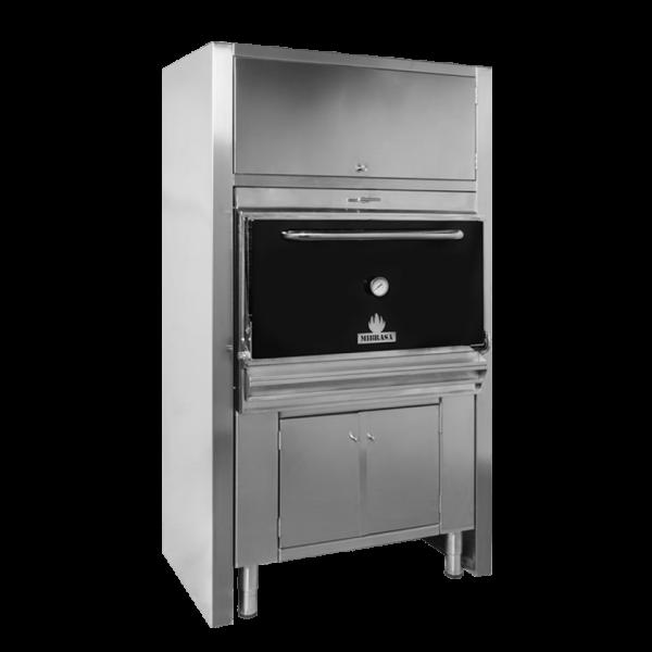 Mibrasa® Pečica na oglje s POLNO omaro HMB AC 75