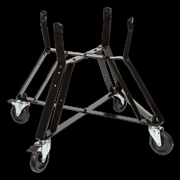 Kovinski podstavek na kolesih za model Large, 2x zavora