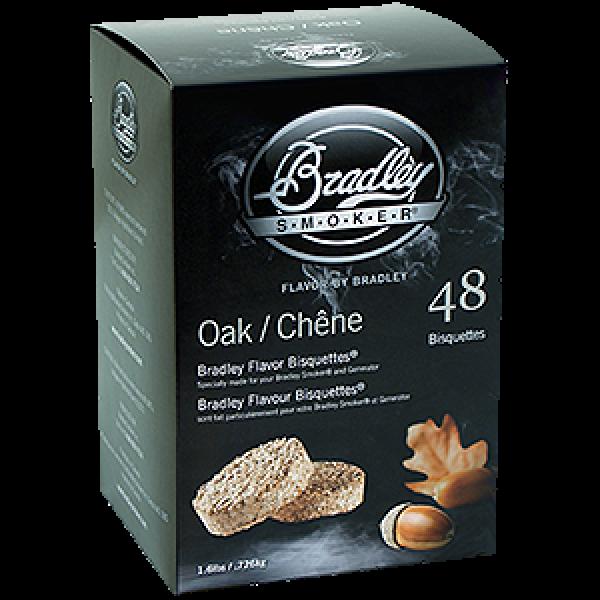 Lesni piškotki za dimljenje Oak (Hrast) 48 pak
