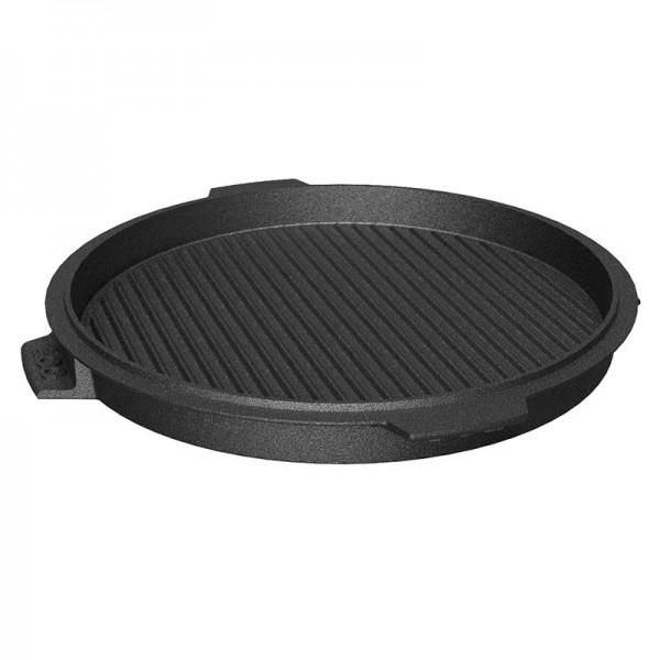Litoželezna okrogla obojestranska polna žar plošča 27 cm - Plancha