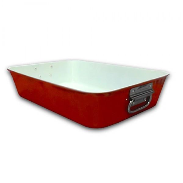 Pladenj za pečenje s keramično prevleko 40x28 cm Burgundy