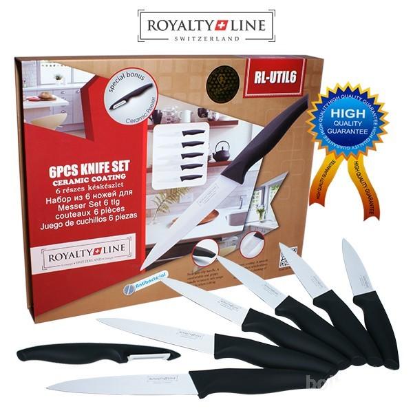 7 Delni Set nožev za zrezke s keramično prevleko Royalty Line