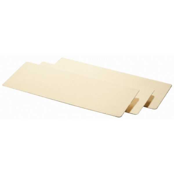 Zaščitna podloga za vakumiranje in prezentacijo jedi 17,5 x 57 cm; 5 kos Zlate barve